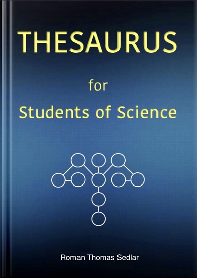 THESAURUS for Students of Science - - The Concise English Thesaurus and Dictionary - cover