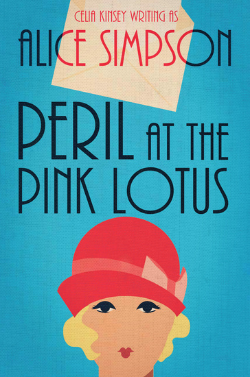 Peril at the Pink Lotus - A Jane Carter Historical Cozy - cover