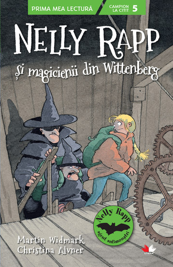 Nelly Rapp si magicienii din Wittenberg - cover