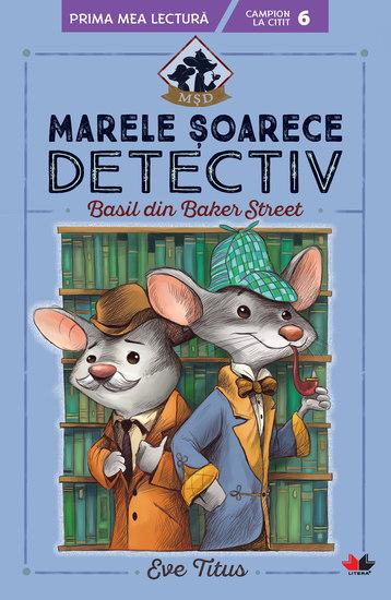 Marele soarece detectiv Basil din Baker Street - cover