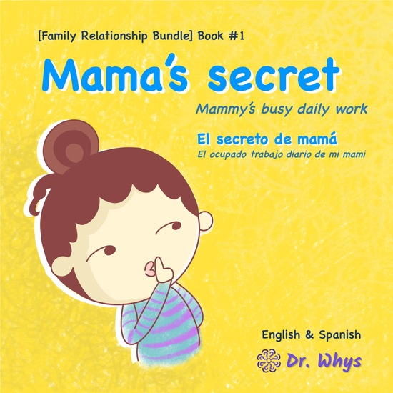 Mama's secret - Mammy's busy daily work - cover