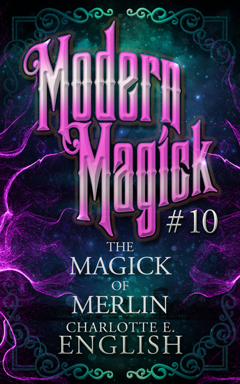 The Magick of Merlin - cover
