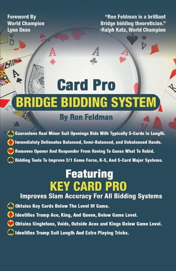 Card Pro Bridge Bidding System - Special E-Book Edition - cover
