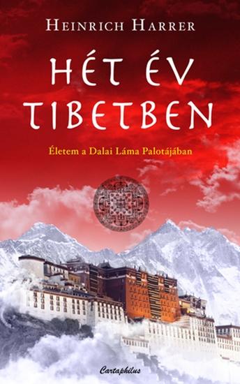 Hét év Tibetben - cover