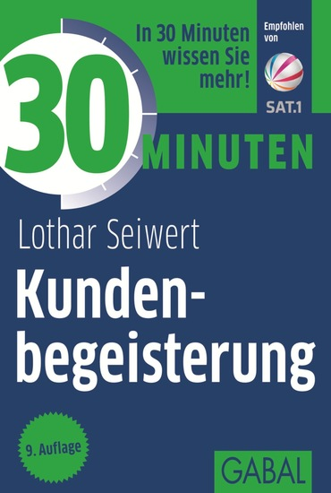 30 Minuten Kundenbegeisterung - cover