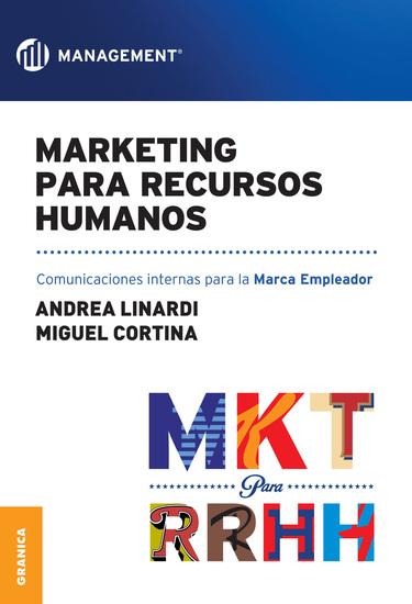 Marketing para Recursos Humanos - Comunicaciones internas para la Marca Empleador - cover