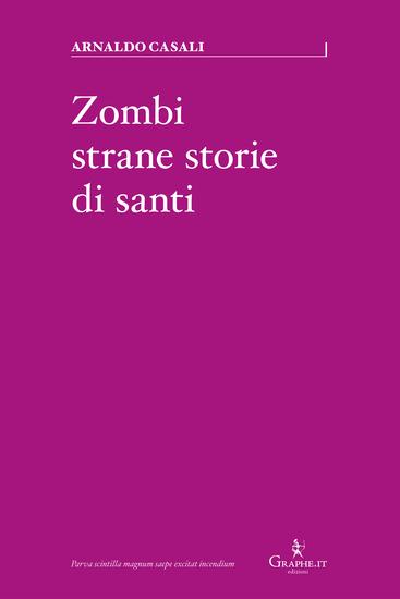 Zombi strane storie di santi - cover