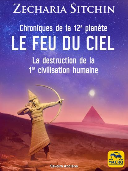 Chroniques de la 12e planète : LE FEU DU CIEL - La destruction de la 1re civilisation humaine - cover