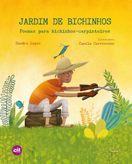 Jardim de bichinhos - Poemas para bichinhos-carpinteiros - cover