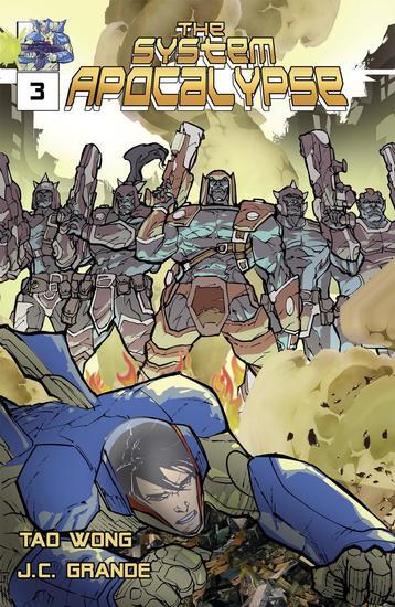 System Apocalypse Issue 3 - Sistema: Apokalipsis Comic #3 - cover