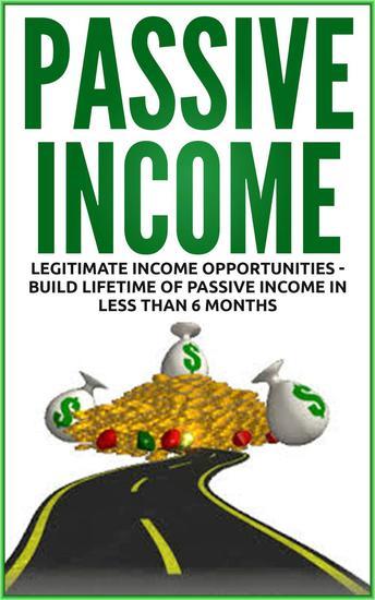 Passive Income - Legitimate Income Opportunities - cover