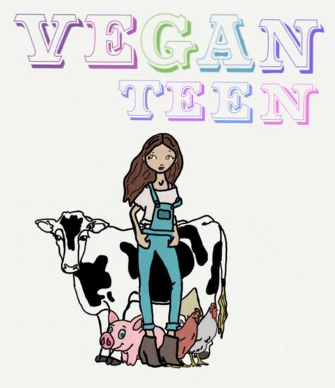 Vegan Teen : How to Go Vegan as a Teen? - cover