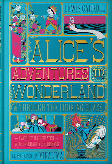 Alice's Adventures in Wonderland & Through the Looking-Glass - cover