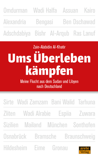 Ums Überleben kämpfen - Meine Flucht aus dem Sudan und Libyen nach Deutschland - cover