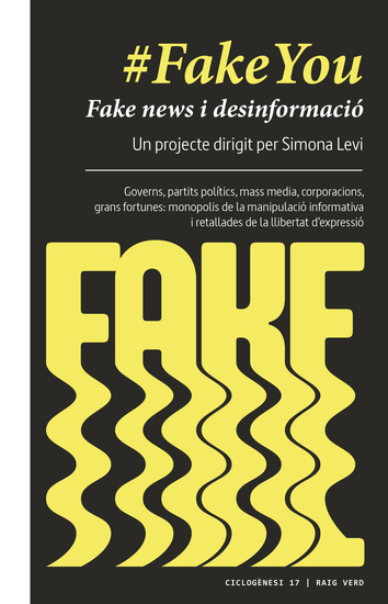 #FakeYou - Fake news i desinformació - cover