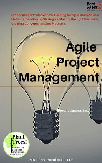 Agile Project Management - Leadership for Professionals Funding for Agile Companies & Methods Developing Strategies Making the right Decisions Creating Concepts Solving Problems - cover