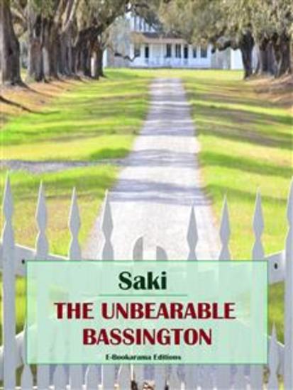 The Unbearable Bassington - cover