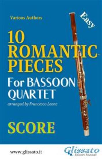 10 Romantic Pieces - Bassoon Quartet (SCORE) - Easy - cover