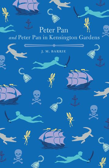 Peter Pan and Peter Pan in Kensington Gardens - cover