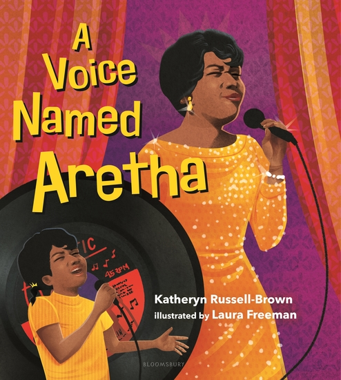 A Voice Named Aretha - cover