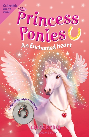 Princess Ponies 12: An Enchanted Heart - cover