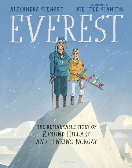 Everest: The Remarkable Story of Edmund Hillary and Tenzing Norgay - cover