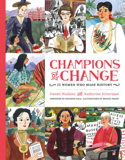 Champions of Change - 25 Women Who Made History - cover