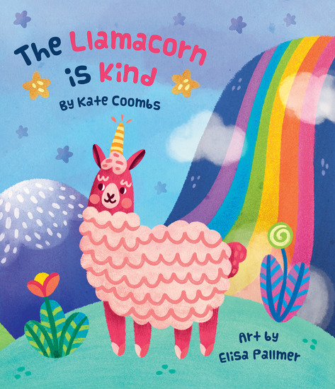 The Llamacorn is Kind - cover