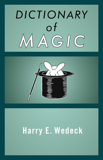 Dictionary of Magic - cover