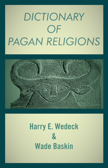 Dictionary of Pagan Religions - cover