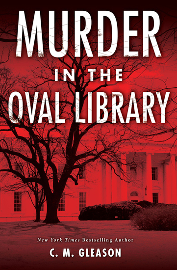Murder in the Oval Library - cover