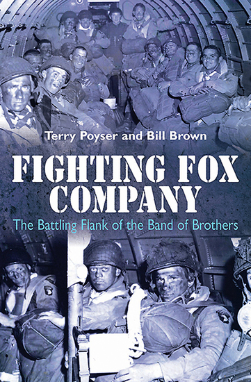 Fighting Fox Company - The Battling Flank of the Band of Brothers - cover
