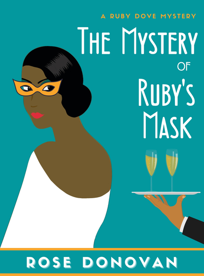 The Mystery of Ruby's Mask - cover