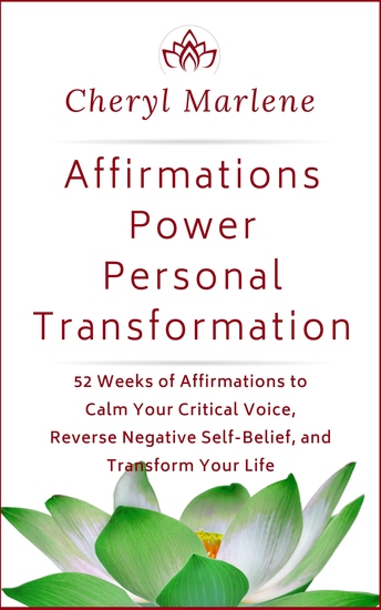 Affirmations Power Personal Transformation - 52 Weeks of Affirmations to Calm Your Critical Voice Reverse Negative Self Belief and Transform Your Life - cover