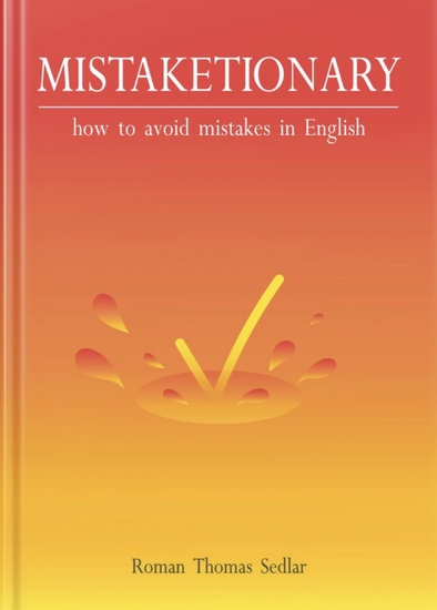 Mistaketionary - how to avoid mistakes in English - cover