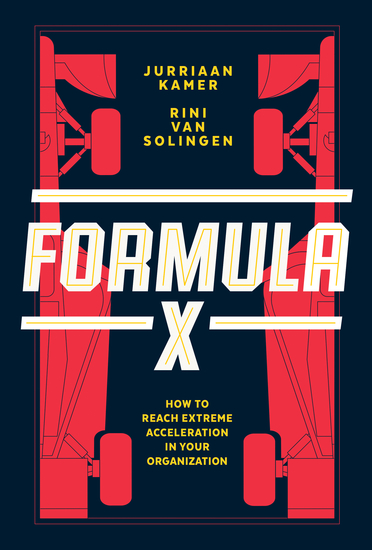 Formula X - How to Reach Extreme Acceleration in Your Organization - cover
