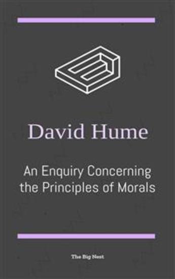An Enquiry Concerning the Principles of Morals - cover