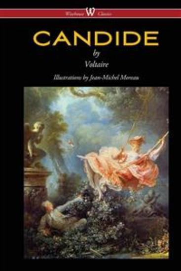 Candide - with Illustrations by Jean-Michel Moreau - cover