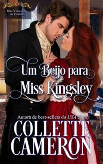 Um Beijo Para Miss Kingsley - cover