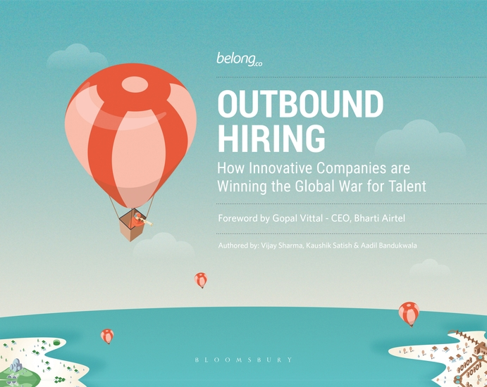 Outbound Hiring - How Innovative Companies are Winning the Global War for Talent - cover