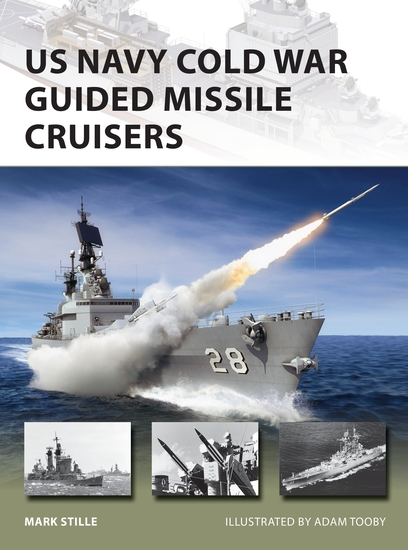US Navy Cold War Guided Missile Cruisers - cover