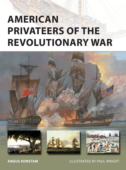 American Privateers of the Revolutionary War - cover