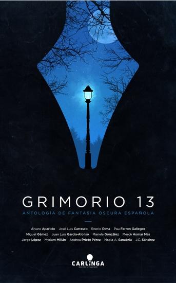 Grimorio 13 - Antología de fantasía oscura española - cover