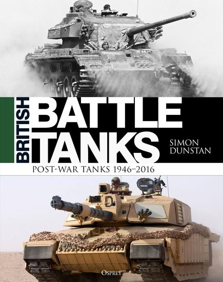 British Battle Tanks - Post-war Tanks 1946–2016 - cover
