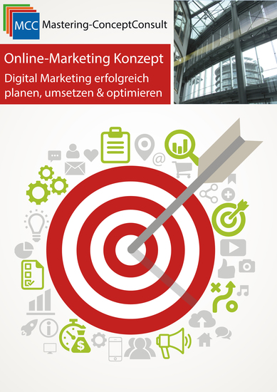 Online-Marketing Konzept - Digital Marketing erfolgreich planen umsetzen & optimieren - cover