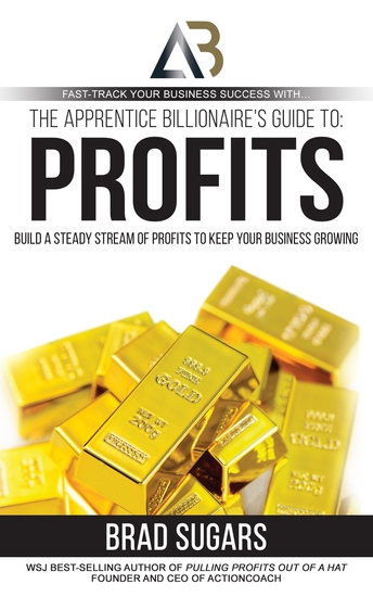 The Apprentice Billionaire's Guide to Profits - Build a Steady Stream of Profits to Keep Your Business Growing - cover