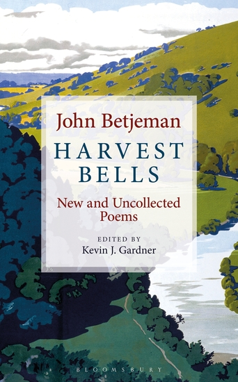Harvest Bells - New and Uncollected Poems by John Betjeman - cover