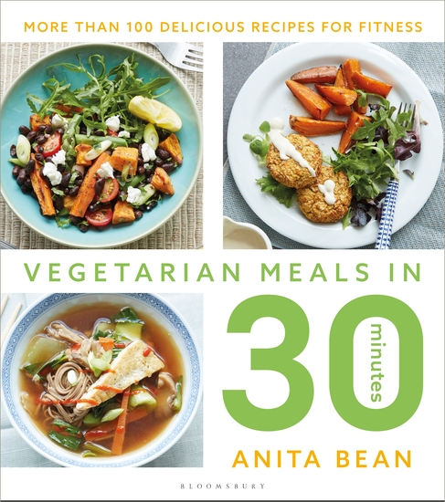 Vegetarian Meals in 30 Minutes - More than 100 delicious recipes for fitness - cover