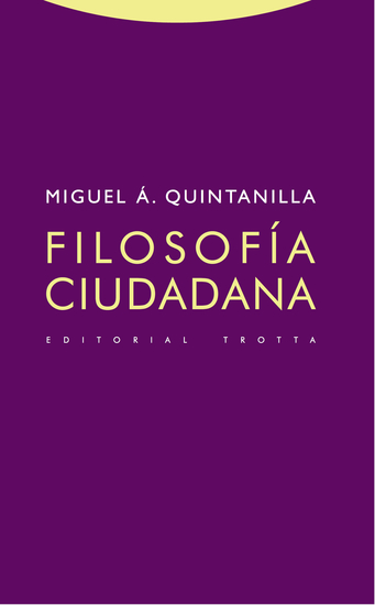 Filosofía ciudadana - cover