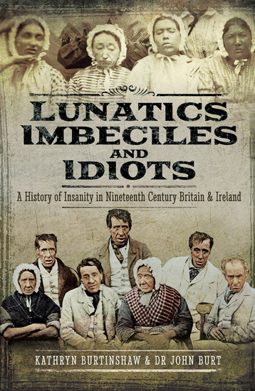 Lunatics Imbeciles and Idiots - A History of Insanity in Nineteenth-Century Britain and Ireland - cover